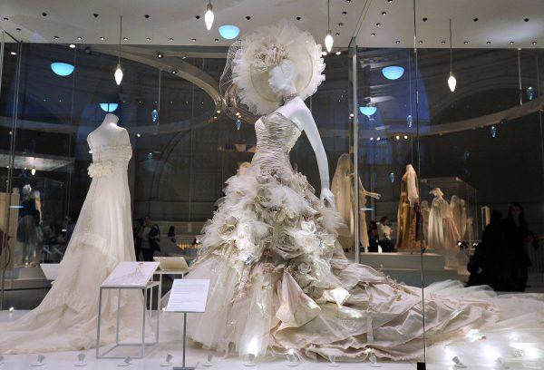 FASHION-BRITAIN-WEDDING DRESSES