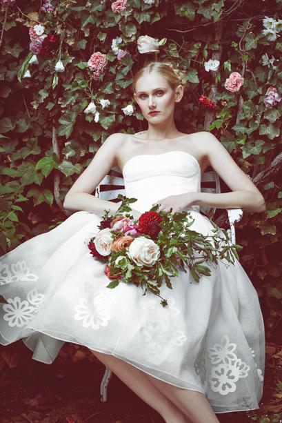 The Zoe Dress © Stone Fox Bride