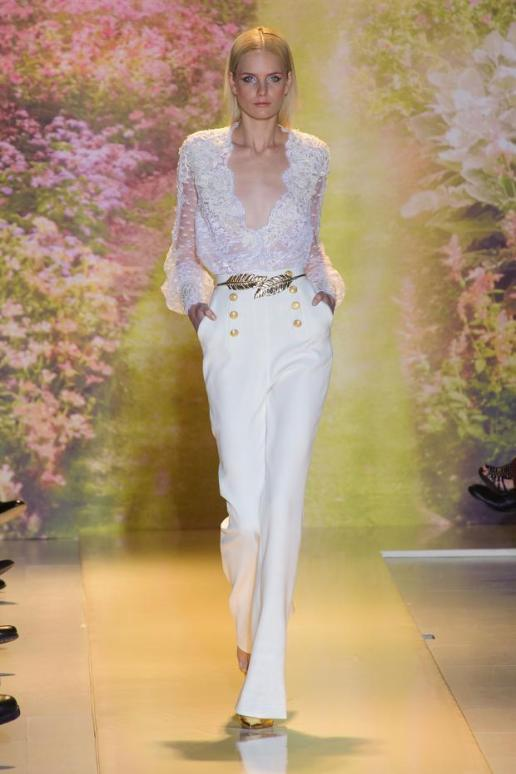 © Zuhair Murad Collection Haute Couture Printemps été 2014