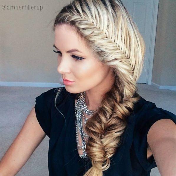 6 façons de porter la tresse pour un mariage blog mariage wedding blog hair style marioninette.com