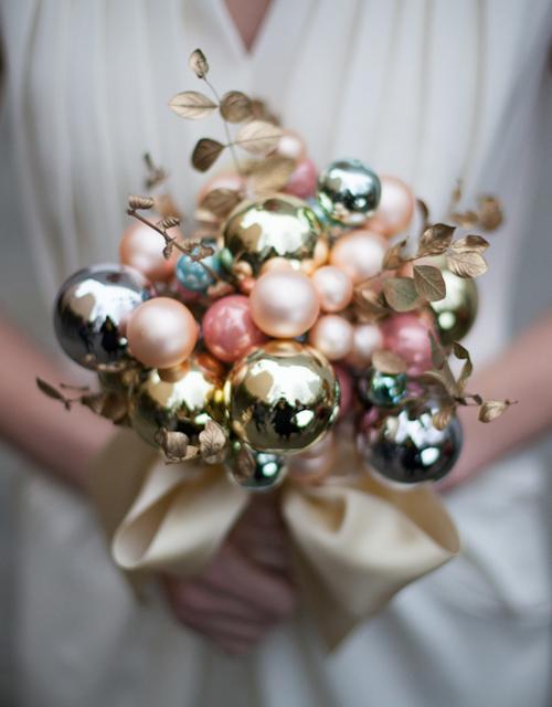Bouquet d'hiver de noel neige