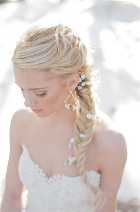 coiffure-mariage-tresse- 6 façons de porter la tresse pour un mariage blog mariage wedding blog hair style marioninette.com