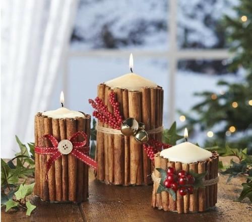 mariage décoration de noel hiver rouge et vert