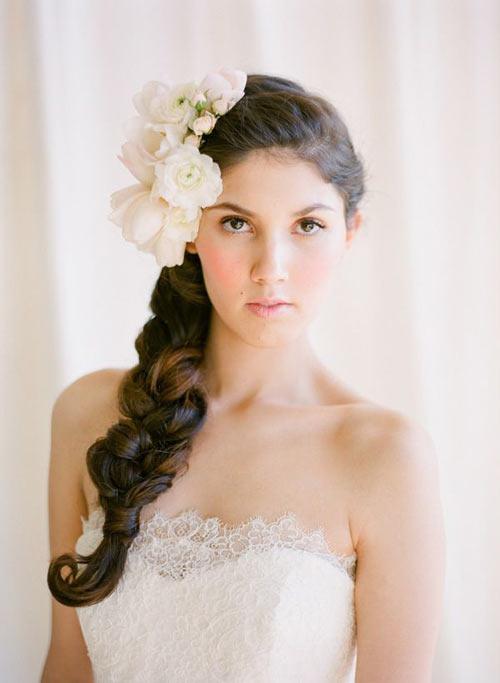 maxi-tresse-mariee 6 façons de porter la tresse pour un mariage blog mariage wedding blog hair style marioninette.com