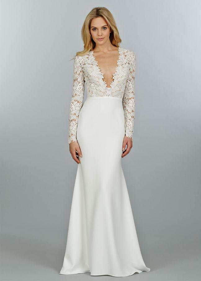 ,tara-keely-bridal-lace-sheath-gown-long-sleeve-v-plunge-neckline-slim-skirt-chapel-train-2450_zm