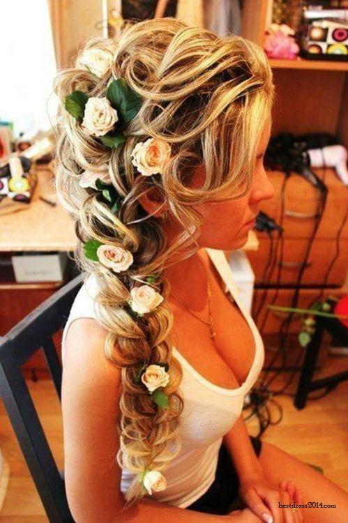 coiffure-mariée-tresse 6 façons de porter la tresse pour un mariage blog mariage wedding blog hair style marioninette.com