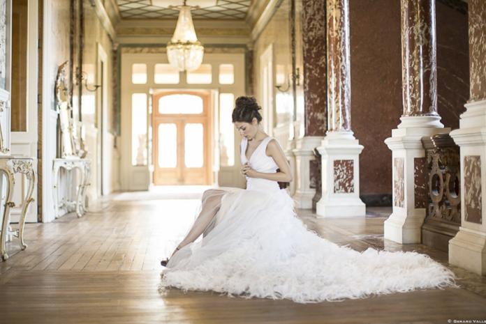 Mary Viloteau - robe de mariée sylia - marioninette