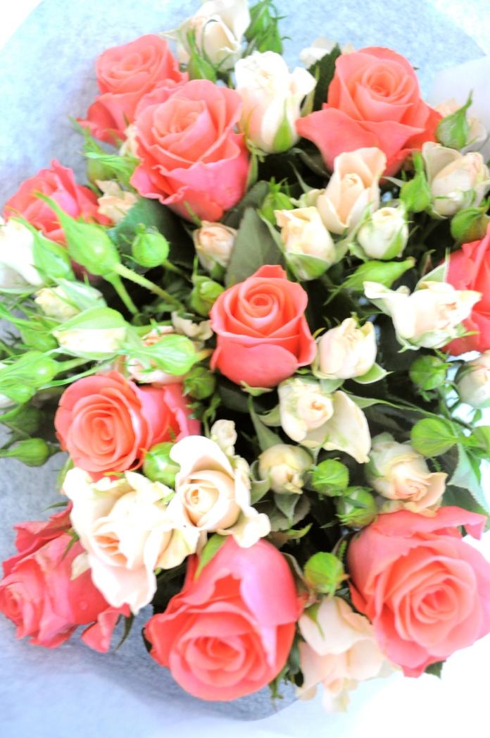 Bouquet de fleurs saint valentin marioninette.com