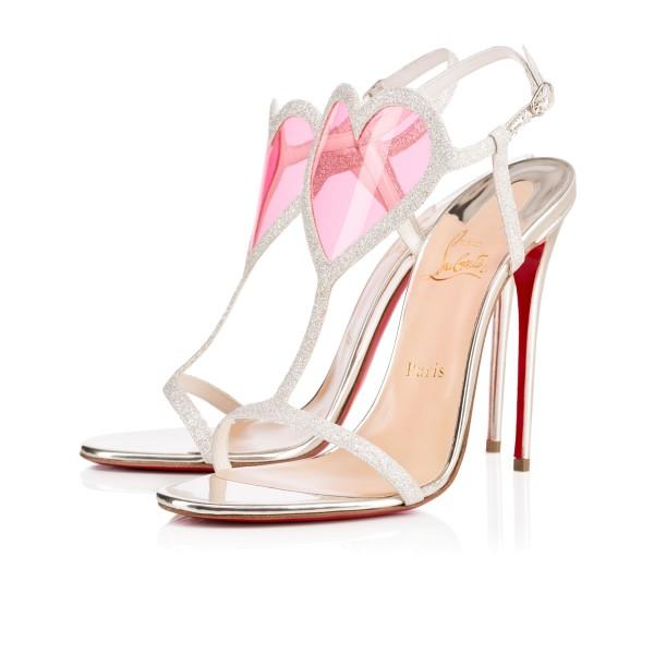 christian louboutin-cora-chaussures avec un coeur mariage marioninette.com
