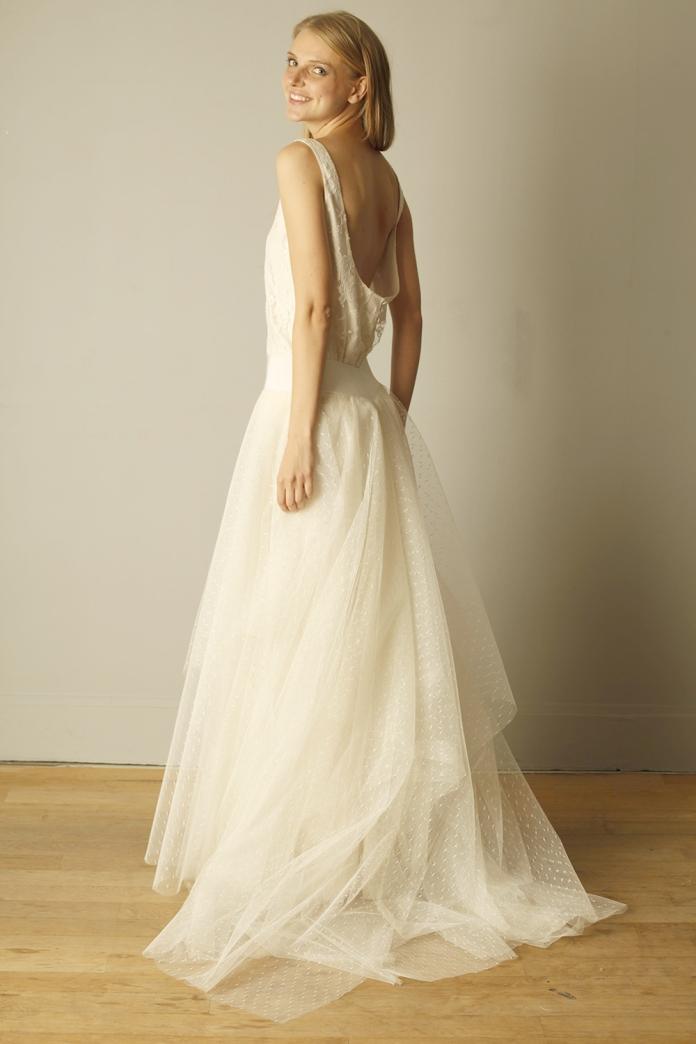 robe de mariée Jackson de David Purves marioninette.com