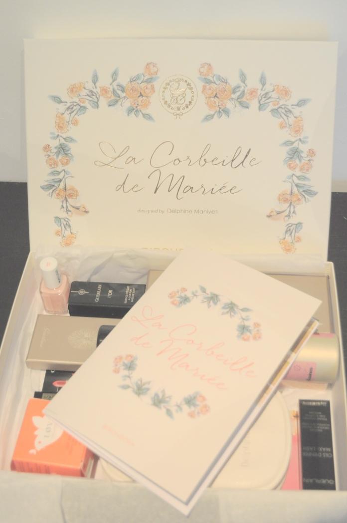 Birchbox La Corbeille de Mariée Delphine Manivet Guerlain box mariage bloge mariage marioninette.com