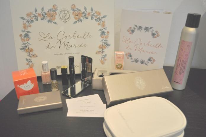 Birchbox La Corbeille de Mariée Delphine Manivet Guerlain box mariage bloge mariage marioninette.com2
