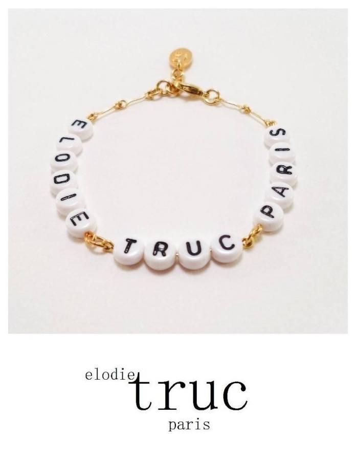 Elodie Truc Paris bracelet personnalisable blog mariage marioninette.com1