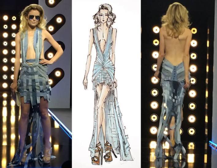 Projet Fashion D8 robe de mariée Delphine Manivet blog mariage marioninette