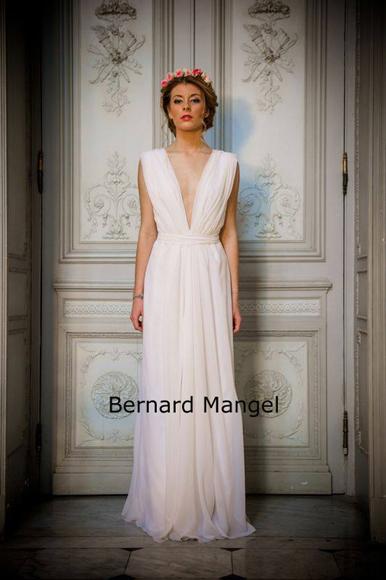 Robe de mariée Bernard Mangel Nice blog mariage marioninette.com1