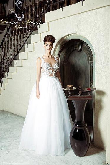 Robe de mariée Sandra Maurel Côte d'Azur blog mariage marioninette.com1
