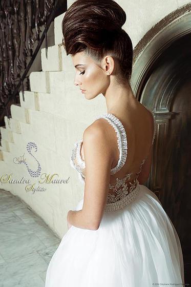 Robe de mariée Sandra Maurel Côte d'Azur blog mariage marioninette.com2