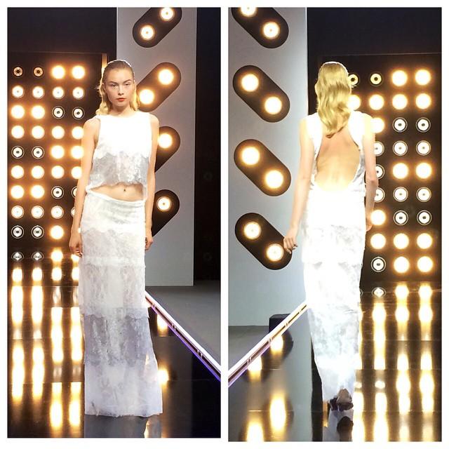 Projet Fashion sur D8 défi robe de mariée avec la créatrice Delphine Manivet blog mariage marioninette.com1