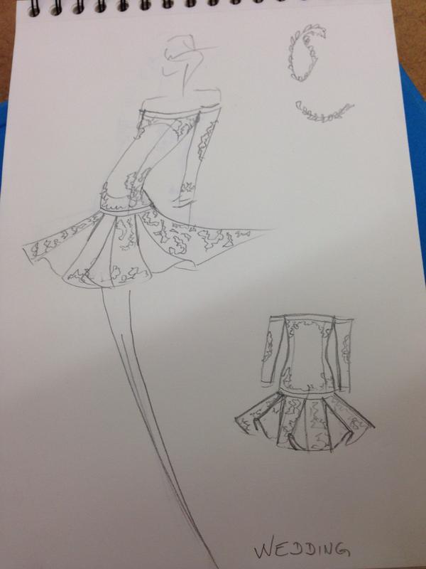 Projet Fashion sur D8 défi robe de mariée avec la créatrice Delphine Manivet blog mariage marioninette.com4